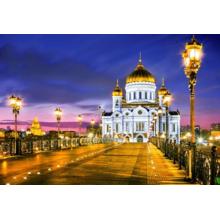Пазл Castorland, 1000 элементов - Храм Христа Спасителя