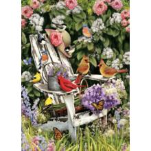 Пазл Cobble Hill, 1000 элементов - Летние птицы