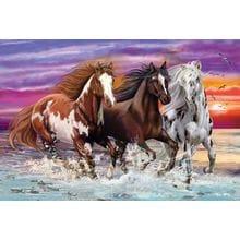 Пазл Schmidt, 200 элементов - Дикие лошади