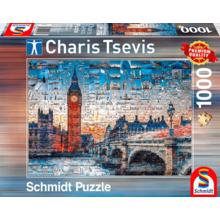 Пазл Schmidt, 1000 элементов - Чарис Цевис. Фото коллаж - Лондон