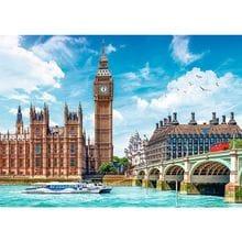 Пазл Trefl, 2000 элементов - Биг-Бен, Лондон, Англия