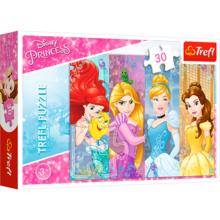 Пазл Trefl, 30 элементов - Сказочные принцессы