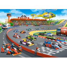 Пазл Castorland, 100 элементов - Формула-гонки