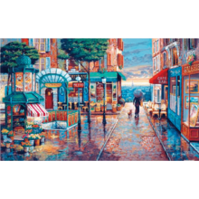 Пазл Pintoo, 1000 элементов - О'Брайен: Прогулка под дождем
