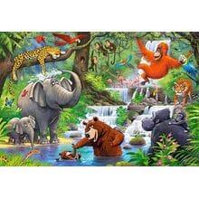 Пазл Castorland, 40 элементов - Животные Джунглей