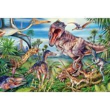 Пазл Schmidt, 60 элементов - Среди динозавров