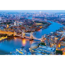 Пазл Castorland, 1000 элементов - Лондон с высоты птичьего полета