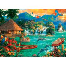 Пазл Trefl, 3000 элементов - Островная жизнь