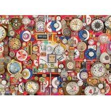 Пазл Cobble Hill, 1000 элементов - Коллаж с часами