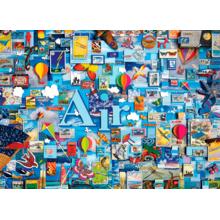 Пазл Cobble Hill, 1000 элементов - Коллаж стихий - Воздух