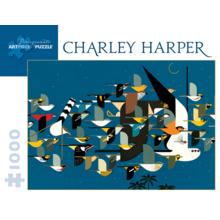 Пазл Pomegranate, 1000 элементов - Ч. Харпер: Тайна миграции птиц
