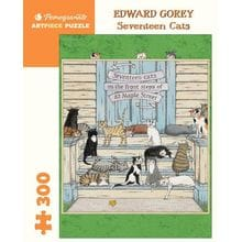 Пазл Pomegranate, 300 элементов - Эдвард Гори: Семнадцать кошек