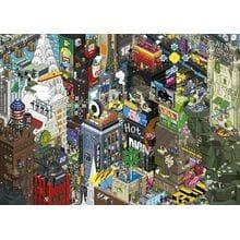 Пазл Heye, 1000 элементов - Квест в Нью-Йорке