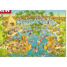 Пазл Heye, 1000 элементов - Нильский зоопарк