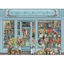 Пазл Cobble Hill, 1000 элементов - Barbara Behr: Парижские цветы