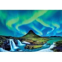 Пазл Educa, 1500 элементов - Северное сияние. Исландия