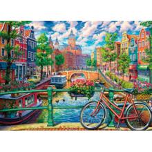 Пазл Cobble Hill, 1000 элементов - Каналы Амстердама