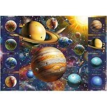 Пазл Trefl, 1040 элементов - Солнечная система