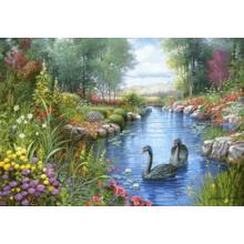 Пазл Castorland, 1500 элементов - Черные лебеди