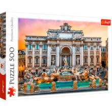 Пазл Trefl, 500 элементов - Фонтан Треви, Рим