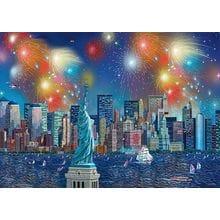 Пазл Schmidt, 1000 элементов - А.Чен Фейерверк в Нью-Йорке