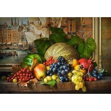 Пазл Castorland, 1500 элементов - Натюрморт с фруктами