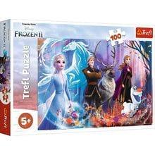 Пазл Trefl, 100 элементов - Магия Frozen