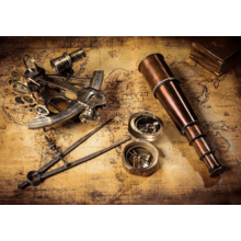 Пазл Clementoni, 1500 элементов - Курс на сокровища
