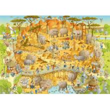 Пазл Heye, 1000 элементов - Африканский зоопарк