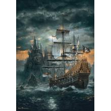 Пазл Clementoni, 1500 элементов - Пиратский корабль
