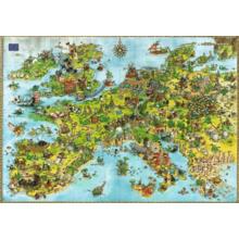 Пазл Heye, 4000 элементов - Degano: Драконы в Европе