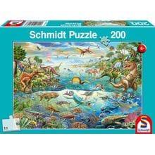 Пазл Schmidt, 200 элементов - Мир динозавров