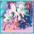 Набор пазлов Trefl, 3в1 (20+36+50) элементов - Счастливые дни пони