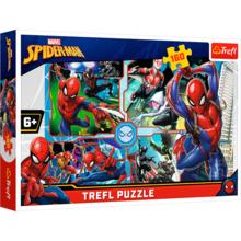 Пазл Trefl, 160 элементов - Помощь Человека-паука