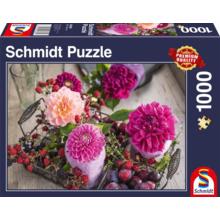 Пазл Schmidt, 1000 элементов - Ягоды и цветы