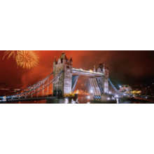 Пазл Heye, 1000 элементов - Салют. Тауэрский мост