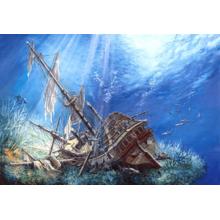 Пазл Castorland, 2000 элементов - Затонувший корабль