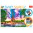 Пазл Trefl, 600 элементов - Небеса над Парижем, Crazy Shapes