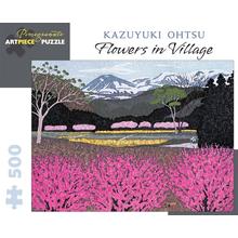 Пазл Pomegranate, 500 элементов - Казуюки Охцу: Цветы в деревне