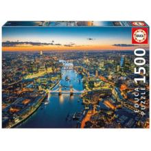 Пазл Educa, 1500 элементов - Лондон с высоты птичьего полета