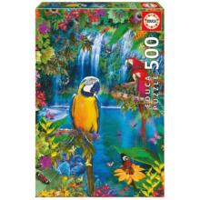 Пазл Educa, 500 элементов - Тропические птицы