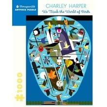 Пазл Pomegranate, 1000 элементов - Чарли Харпер: Мир птиц