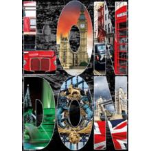 Пазл Educa, 1000 элементов - Лондон, коллаж