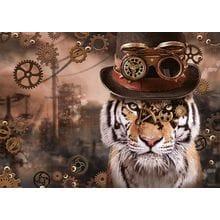 Пазл Schmidt, 1000 элементов - М.Бинц Стимпанк Тигр