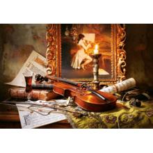 Пазл Castorland, 1000 элементов - Натюрморт со скрипкой