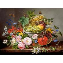 Пазл Castorland, 2000 элементов - Натюрморт с цветами