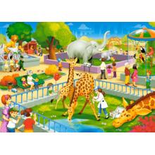 Пазл Castorland, 60 элементов - Зоопарк