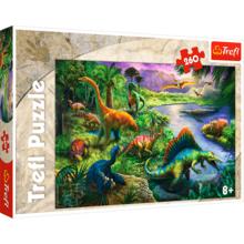 Пазл Trefl, 260 элементов - Динозавры