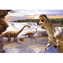 Пазл Castorland, 260 элементов - Динозавры