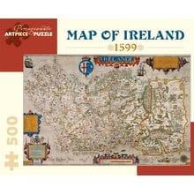 Пазл Pomegranate, 500 элементов - Карта Ирландии, 1599 г.